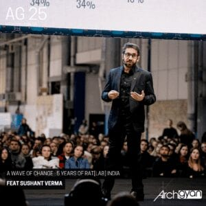A Wave of Change : 5 Years of RatLAB India with Sushant Verma