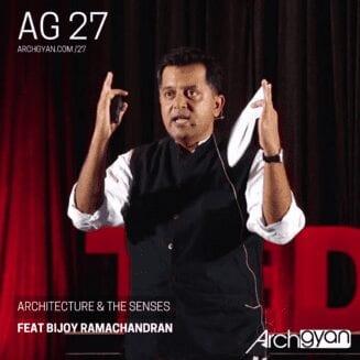 Architecture & The Senses with Bijoy Ramachandran