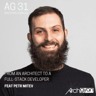 From an Architect to a Full-stack developer with Petr Mitev