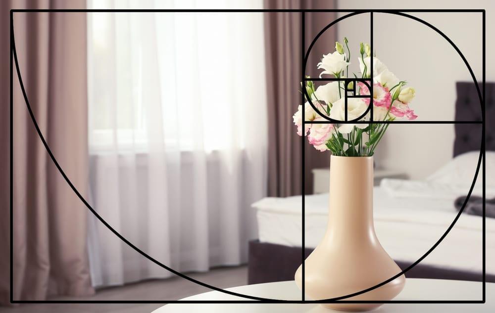 golden ratio or golden spiral in 3d renderings