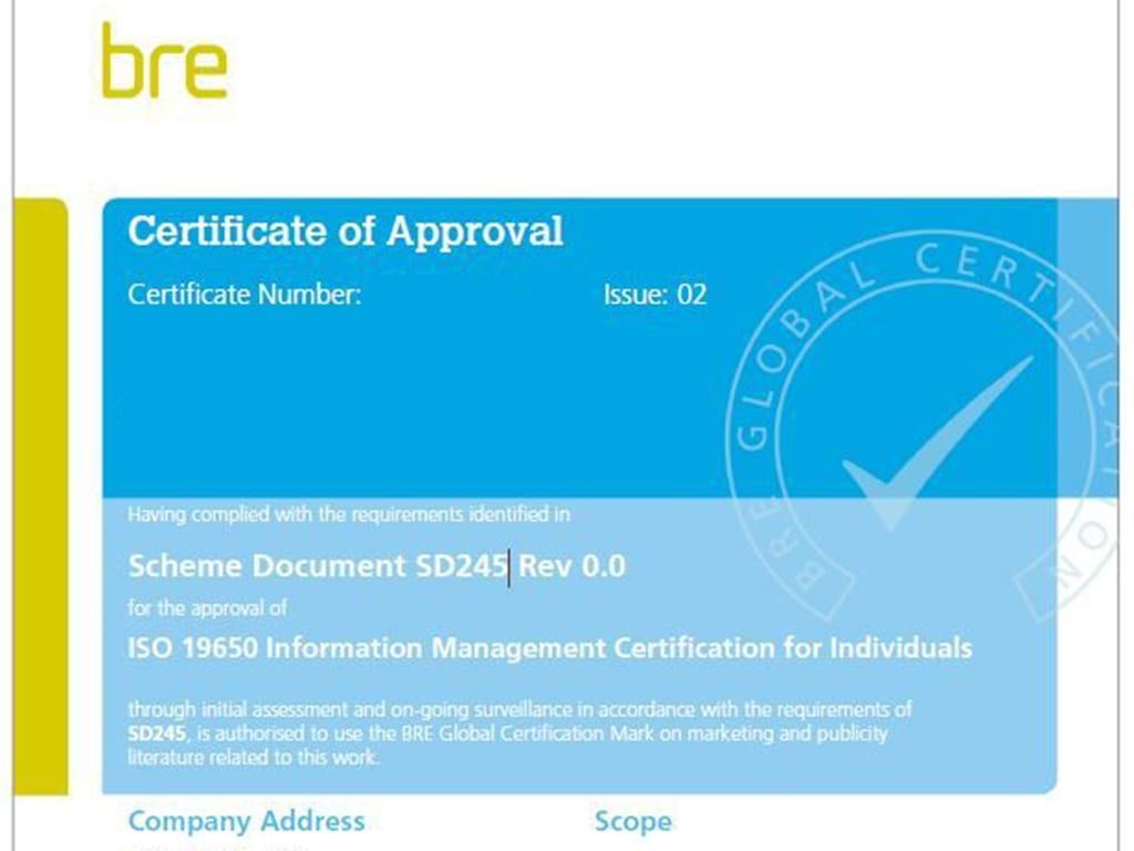 Bre BIM Certification   Archgyan